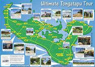 Tongatapu Island map